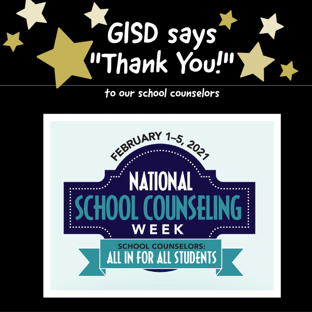GISD Recognizes National School Counseling Week