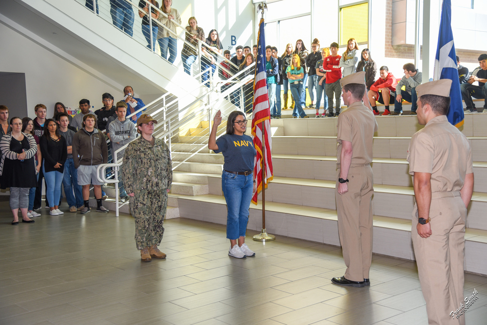 GHS senior to enter elite Navy program