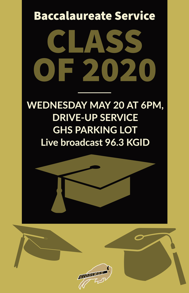 Baccalaureate Service Wednesday May 20