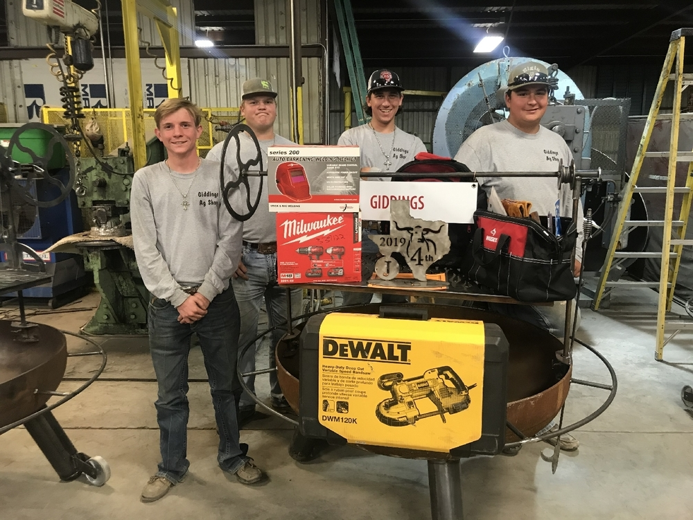 Ag Shop Welding Team Places 4th