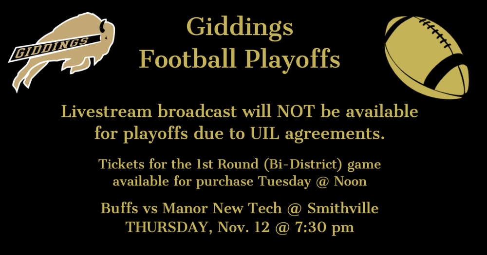 UIL Announces No Live Streaming for Football Playoffs