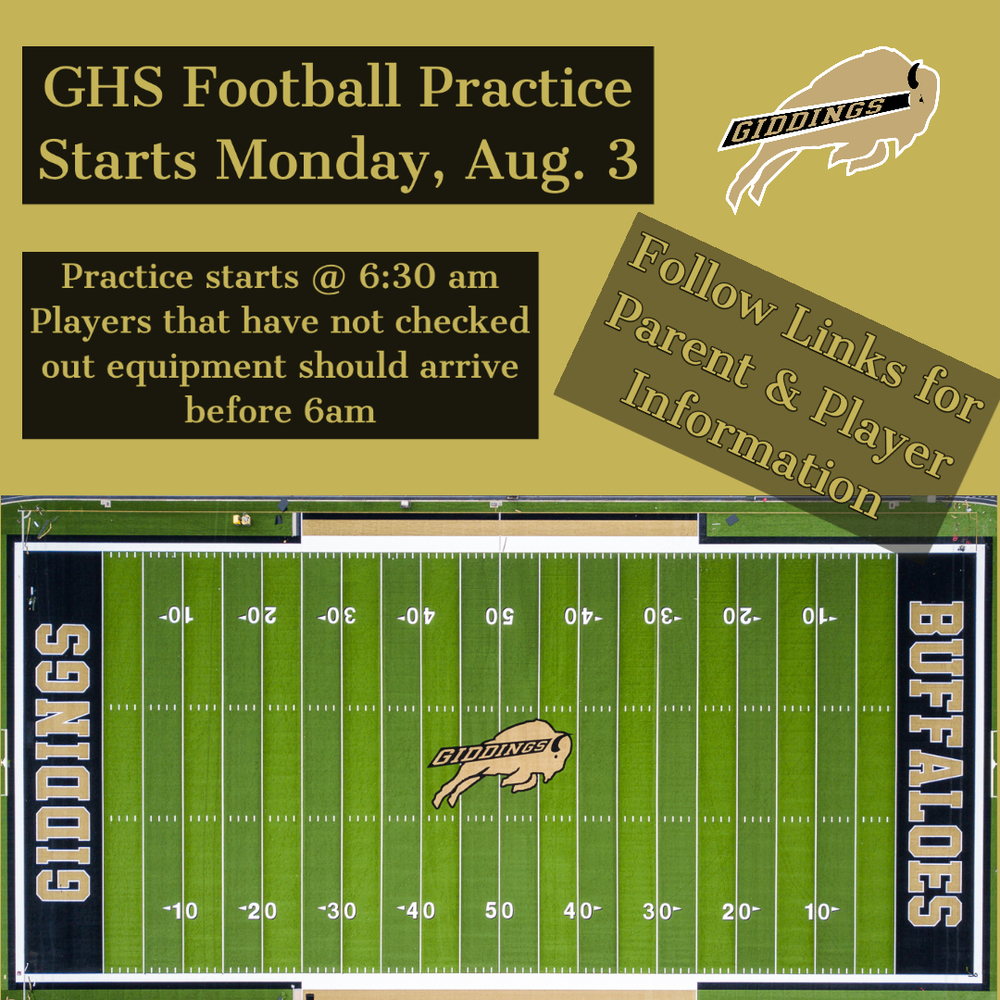 Important GHS Football Information