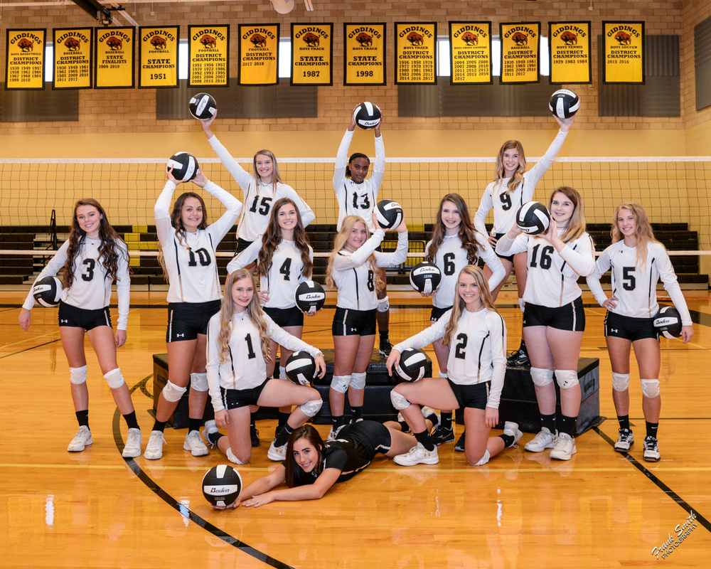 Lady Buffs volleyball players earn district honors