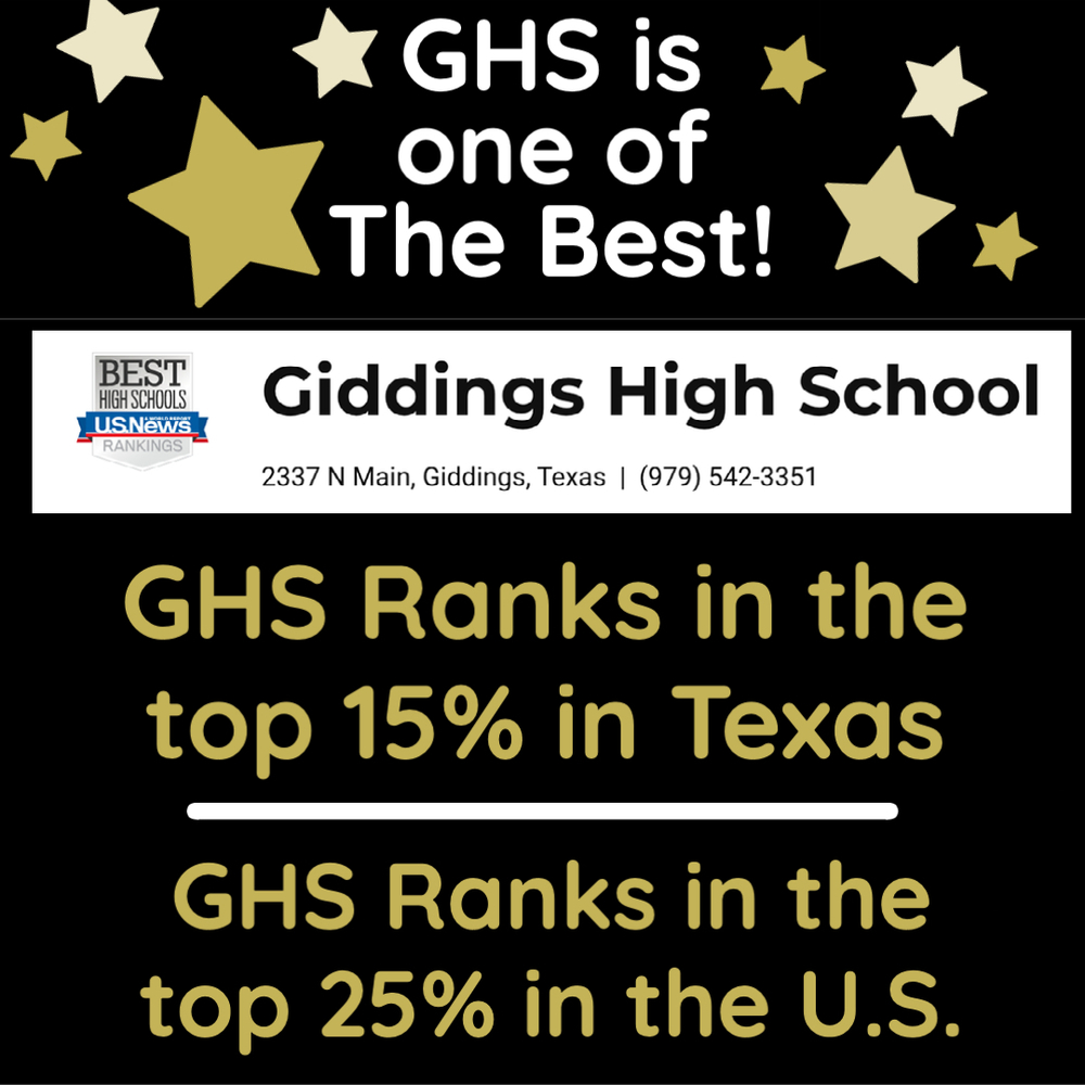 GHS Ranks at Top of State, Nation
