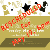 Senior Awards Ceremony Rescheduled