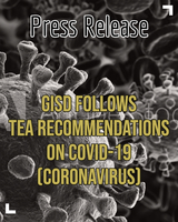 GISD follows recommendations on Coronavirus (COVID-19)