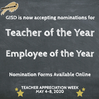 Nominations Being Accepted for Teacher & Employee of the Year