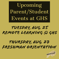 Giddings HS Events Announced
