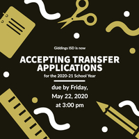GISD Now Accepting Transfer Applications