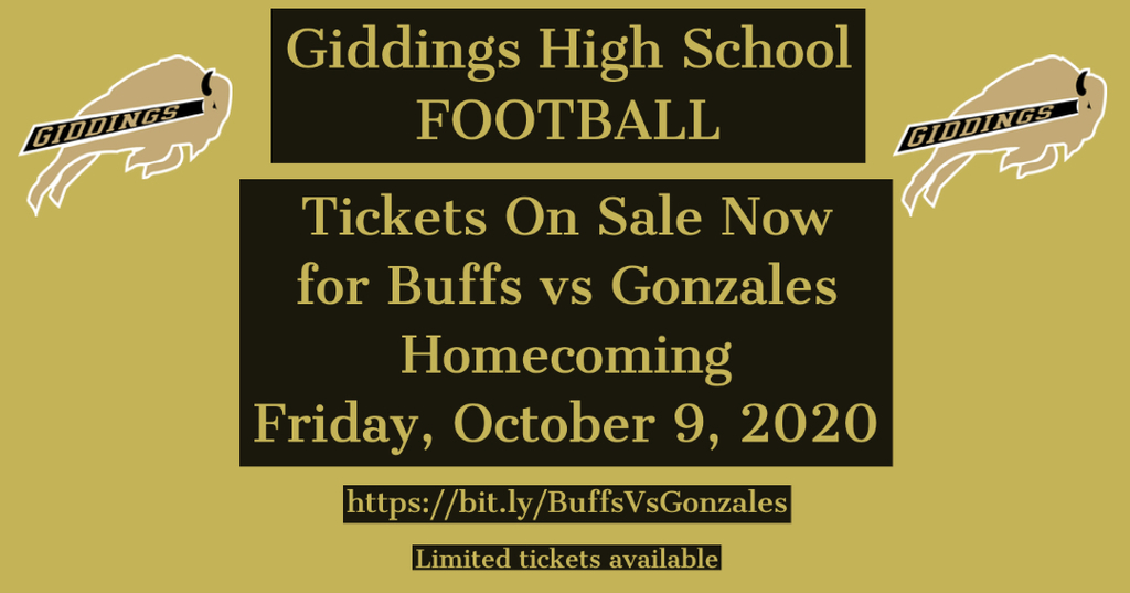 Tickets for Gonzales