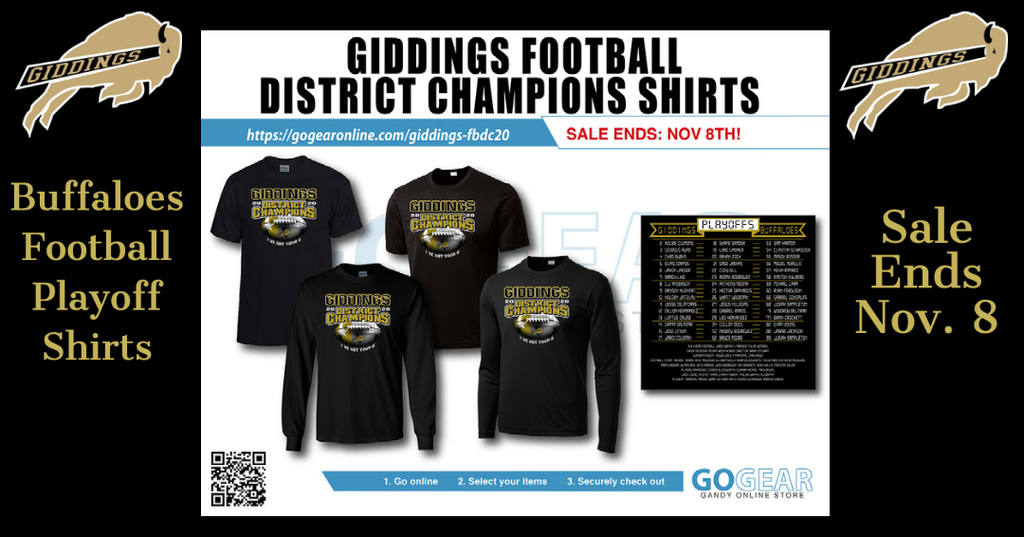 District Champ Shirt Sales