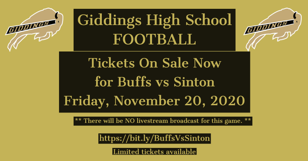 Buffs Vs Sinton