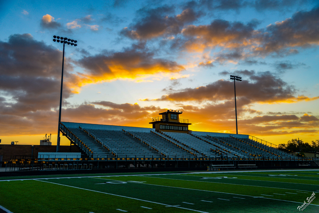 Buffalo Stadium at Sunrise