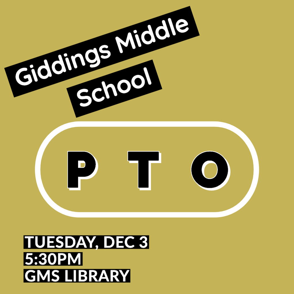 GMS PTO Meeting