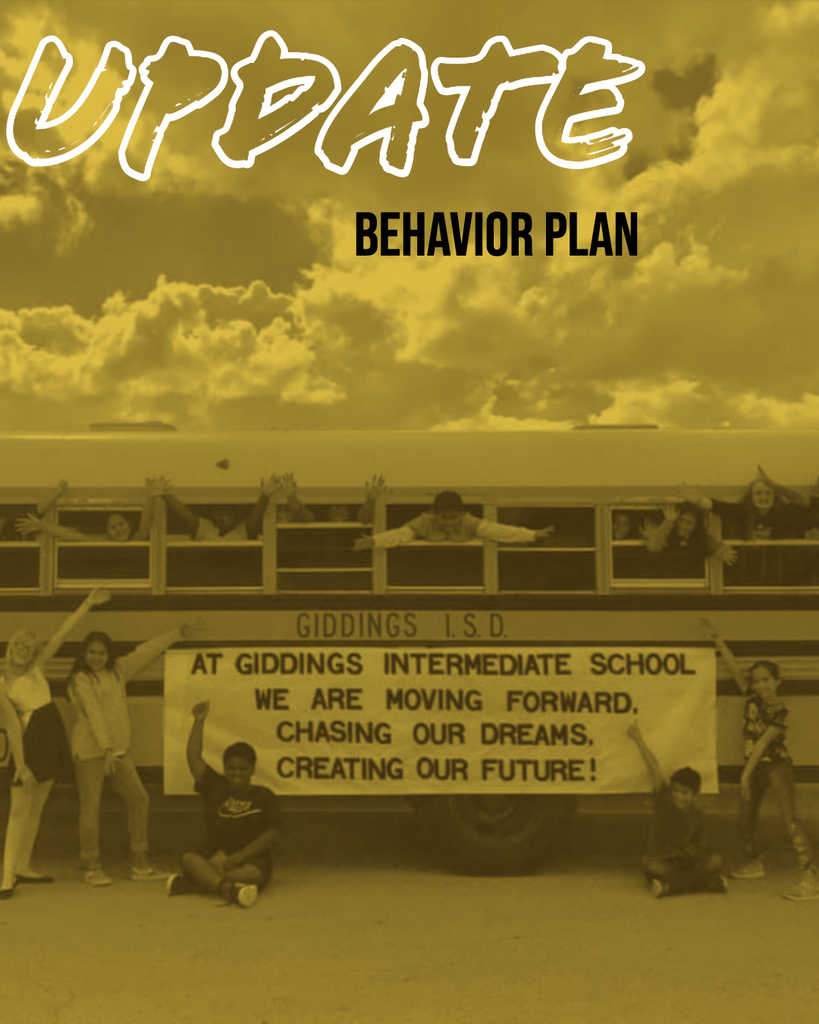 Behavior Plan Update