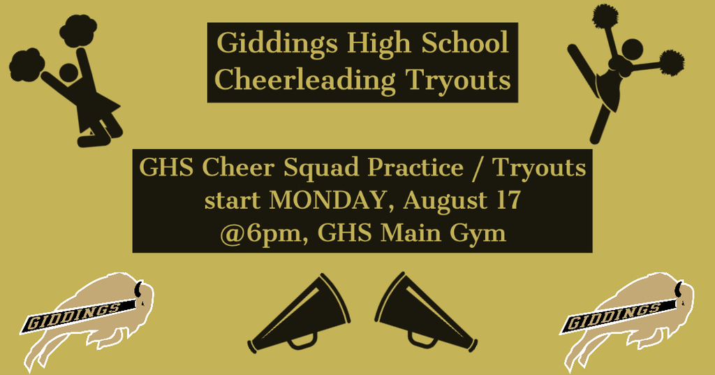GHS Cheer Tryouts