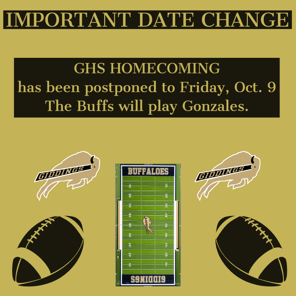 Homecoming Date Change